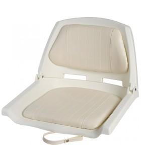 Sedile in polietilene con schienale ribaltabile