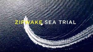 Zipwake, sistema di controllo dell'assetto imbarcazione