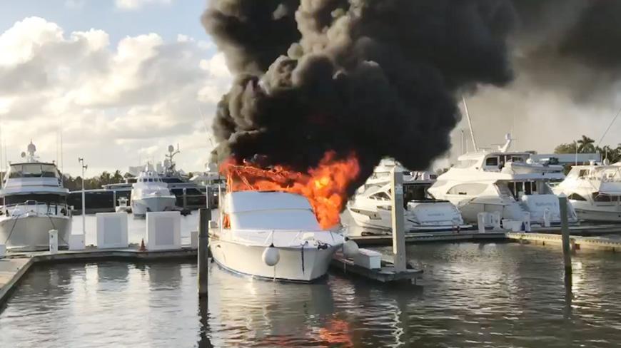 Incendio a bordo! Come non essere impreparati