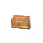 Portaoggetti in legno nautico teak della ARC per barca su PianetaNautica
