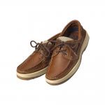 scarpe da barca in pelle e stoffa su PianetaNautica