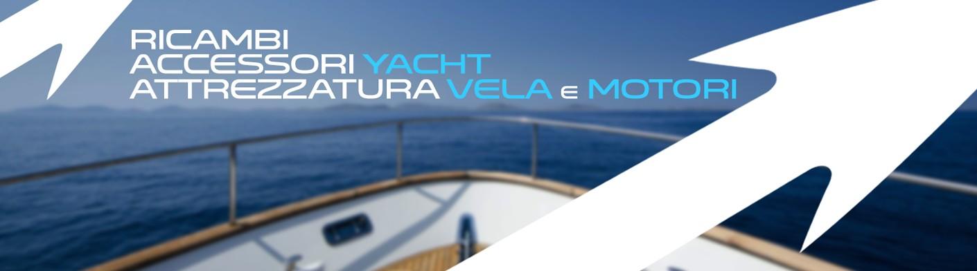 Ricambi e accessori per barca a vela a motore e yacht