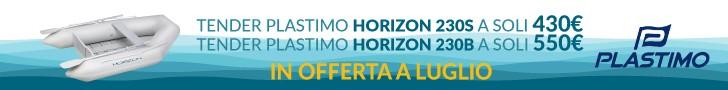 Tender Plastimo Horizon 230B e 230S in offerta